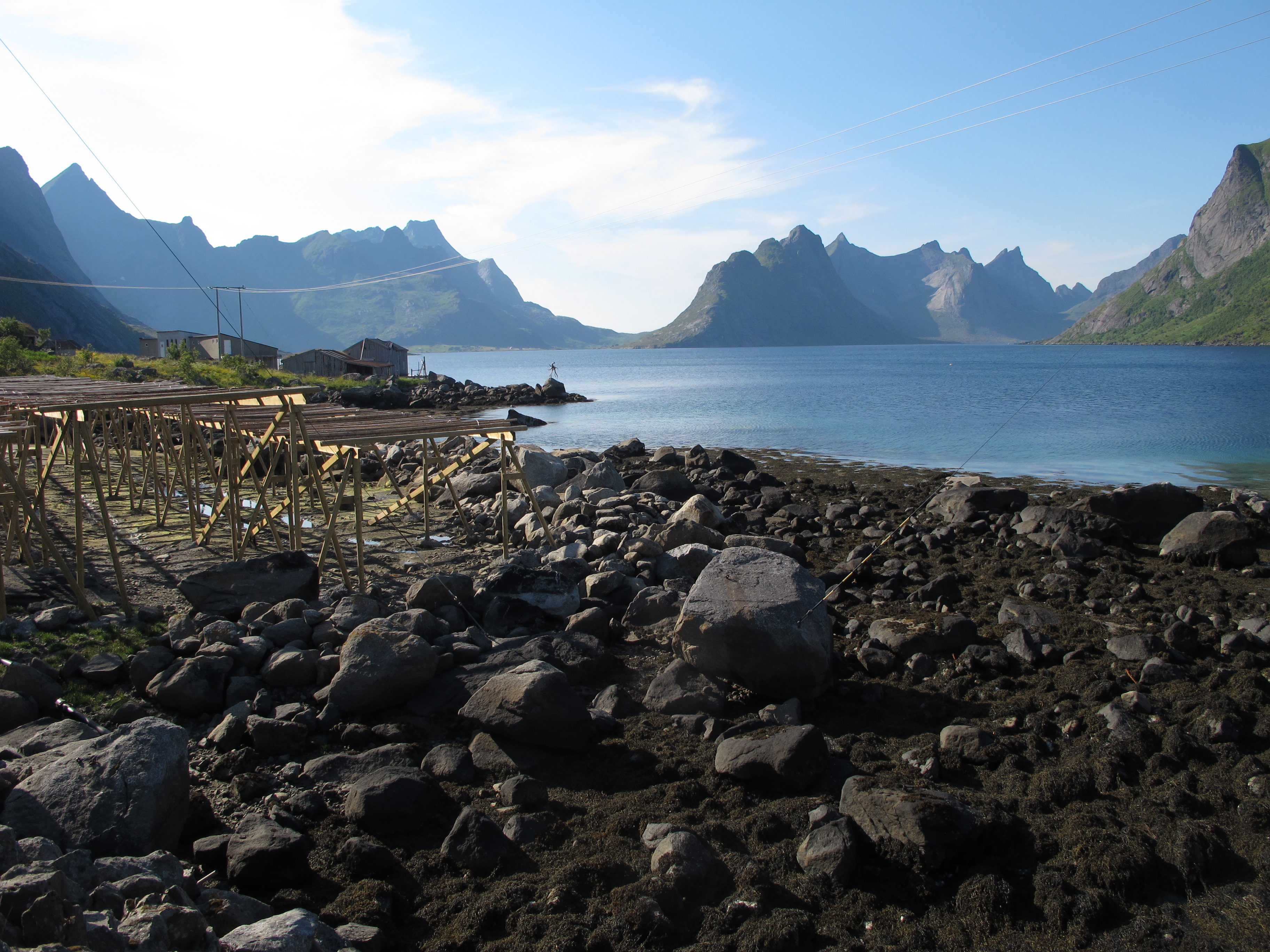 Sakrisoy Lofoten Islands