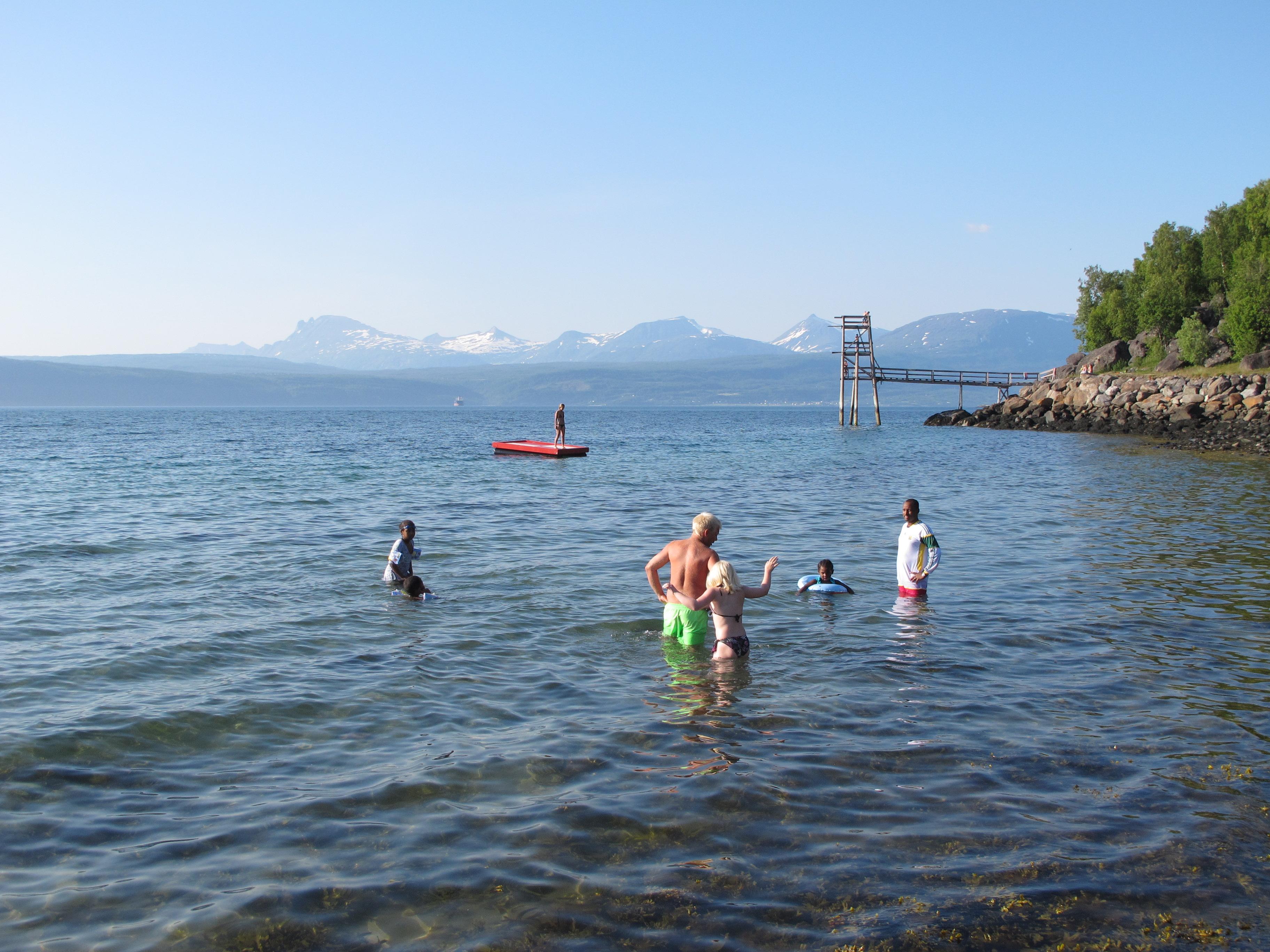 Narvik Bathers