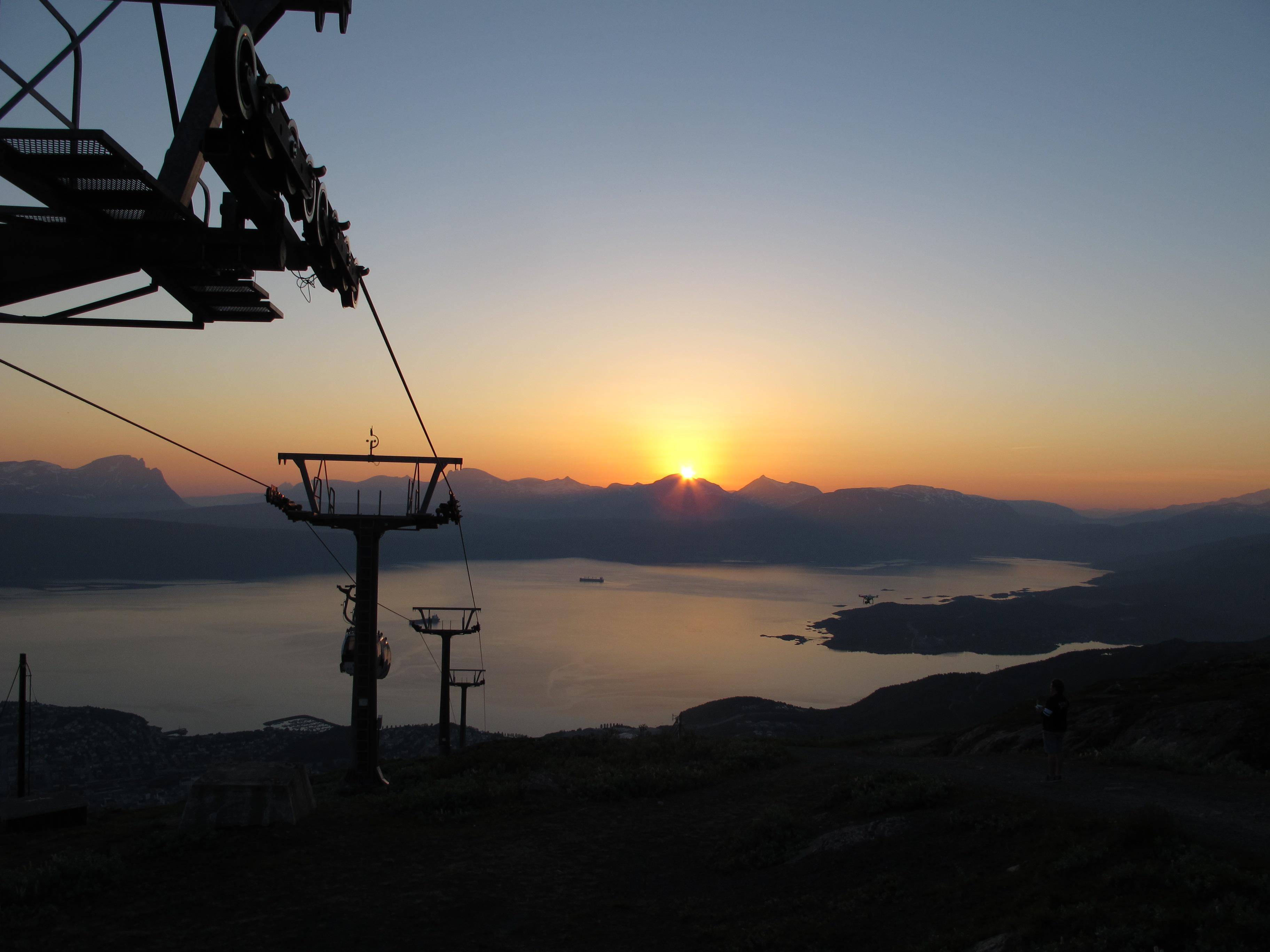 midnight sun at Narvik 2
