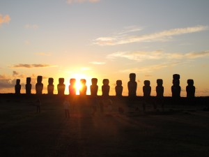 Easter Island is the dream holiday for many, but not for 1,200 travellers stranded there just before Xmas