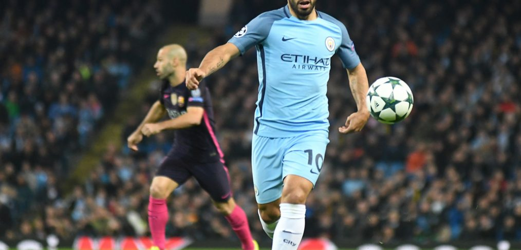 Sergio Aguero's goals have helped Man City get off to a flyer