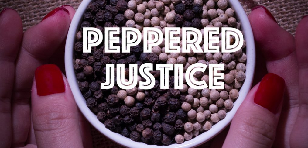 Peppered Justice by Mark Bibby Jackson