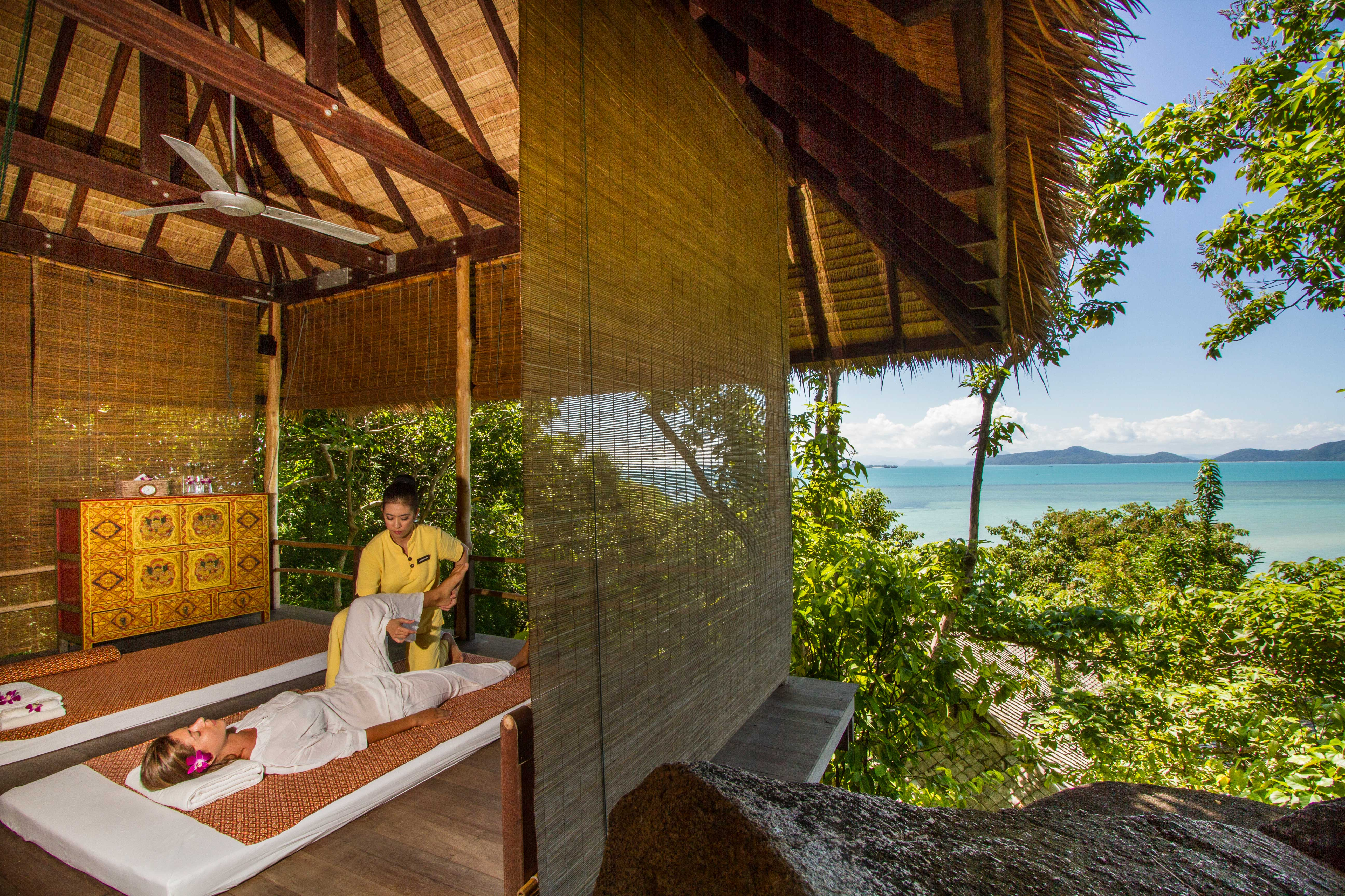 Kamalaya-Koh-Samui-Open-treatment-rooms
